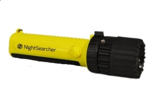 Lanterna NightSearcher EXZOOM Atex, Spot to Flood
